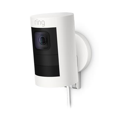 Ring Stick Up Security Camera Elite Wired - White | 64-8SS1E8-WEU0