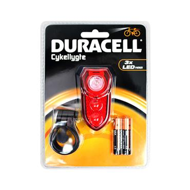 Duracell 3 LED Rear Bike Bicycle Light | 4000-36