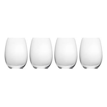Mikasa Julie Set Of 4 19.75Oz Stemless Wine Glasses | 5193458