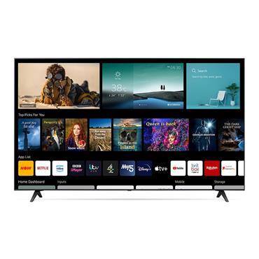 "LG UP77 75"" 4K Ultra HD HDR Smart TV | 75UP77006LB"