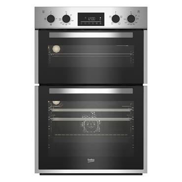 Beko Built In Double Oven - Stainless Steel | BBDF26300X