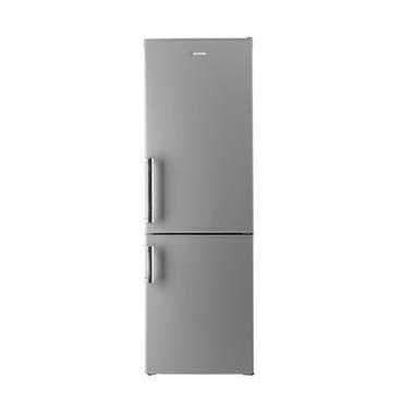 Hoover 60/40 Frost Free Freestanding Fridge Freezer - Stainless Steel | HVBF6182XFHK