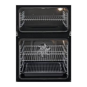 Zanussi Built In Double Oven - Stainless Steel | ZOD35802XK