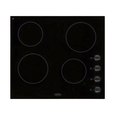 BELLING 60CM CERAMIC HOB WITH KNOBS | BCH60