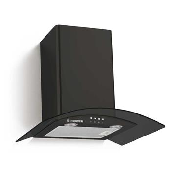 Hoover Chimney Cooker Hood - Black | HGM610NN