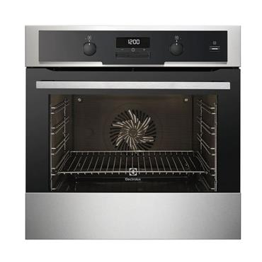 Electrolux 60cm Multifunction  Single Oven Stainless Steel | EOA5454AAX