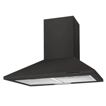 Candy 60cm Chimney Extractor Hood - Black | CCE60NN