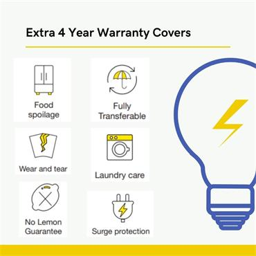 Extra Peace of Mind Warranty - 4 Years | B74