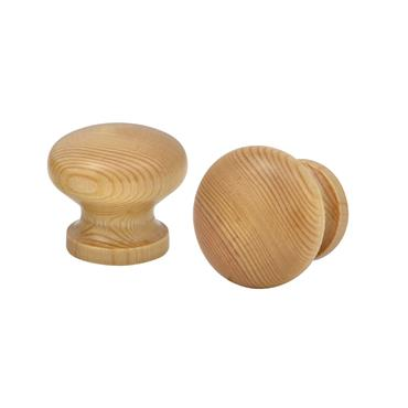Honey lacquer pine cabinet knob | 0500045
