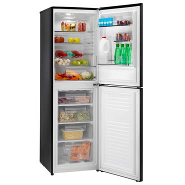 HOOVER 175CM 50/50 FRIDGE FREEZER black | HCS5172BK