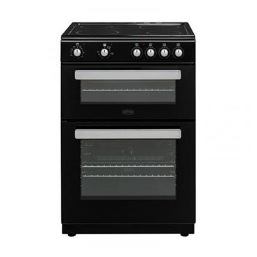 BELLING 60CM TWIN CAVITY COOKER BLACK | BFSE60TCBLK