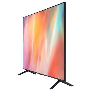 "Samsung AU7100 43"" 4K Ultra HD HDR LED Smart TV | UE43AU7100KXXU"