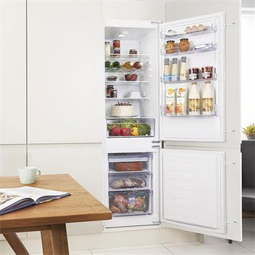 Beko 70/30 Integrated Frost Free Combi Fridge Freezer | BCFD173