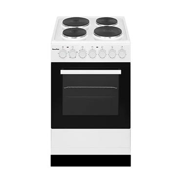 Powerpoint 50cm Single Cavity Solid Plate Electric Cooker - White | P05E1S1W