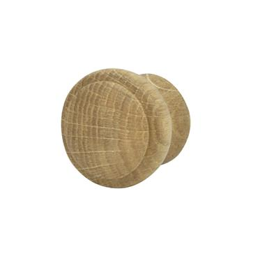 No. 123 oak cabinet knob lacquered 35mm | 0200005