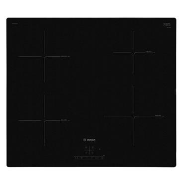 BOSCH Serie 4 Electric Induction Hob - Black | PUE611BF1B
