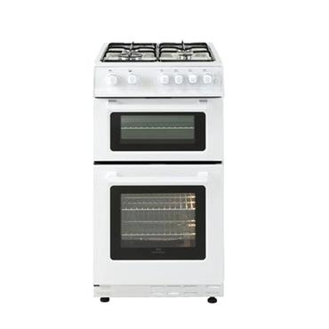 Belling 60CM Twin Cavity LPG Gas Cooker - White | FSG60TCWHLPG