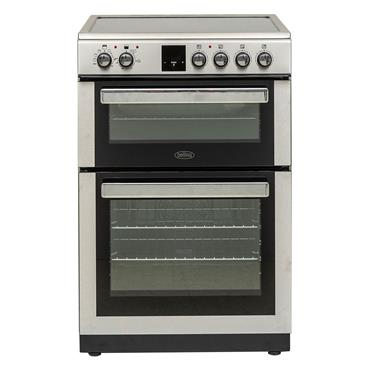 Belling 60CM Double Oven Ceramic Top Cooker Stainless Steel | BFSE60DOPIX