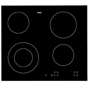 Zanussi Built In Single Oven and Ceramic Hob Pack Stainless Steel | ZPVF4130X