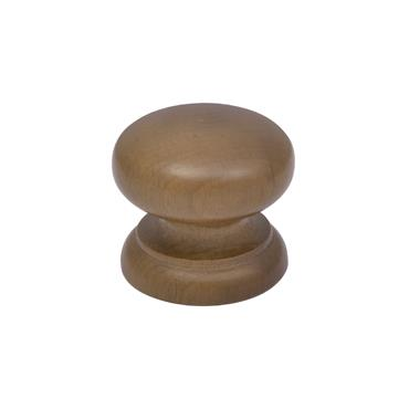 Walnut cabinet knob 45mm | 0500100