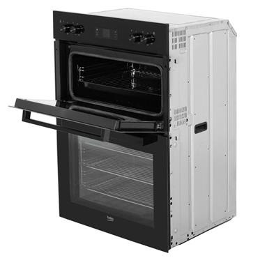 BEKO Built-In DOUBLE OVEN BLACK | BDF22300B