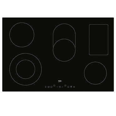 BEKO 80CM ELECTRIC CERAMIC HOB BLACK  | HIC85402T