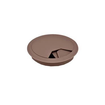Brown cable tidy 80mm | 6302110