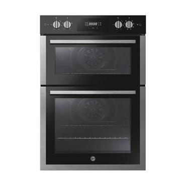 Hoover Built-In Double Electric Oven Stainless Steel / Black   HO9DC3UB308BI