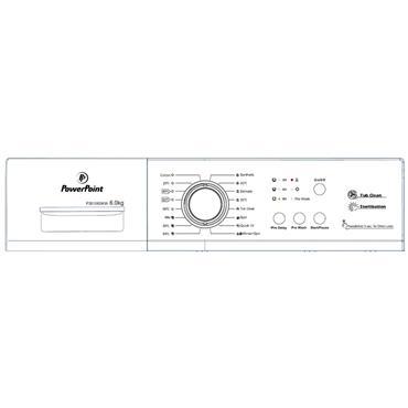 Powerpoint 6kg 1000 Spin Waashing Machine | P35106SKW