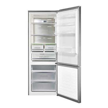 Belling 185cm High 70cm Wide Stainless Steel Fridge Freezer | BFF416SS
