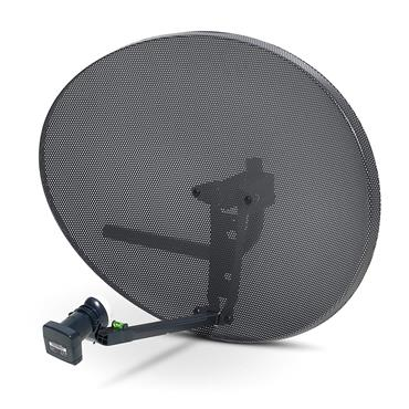 SKY MESH 60cm SATELLITE DISH and QUAD LNB (ASSEMBLY REQUIRED) | EL60DDPQUAD-S