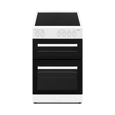 Powerpoint 50cm Double Cavity Ceramic Cooker - White | P05C2SWH