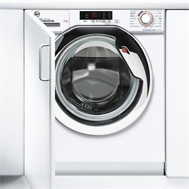 Hoover 8kg 1400 Spin Integrated Washing Machine | HBWS48D2ACE-80