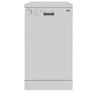 Beko 10 place 45cm Slimline Dishwasher white | DFS04010W