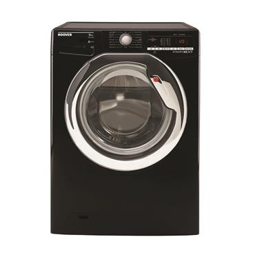 Hoover 9kg 1400 Spin Washing Machine with One Touch - Black/Chrome | DXOA49C3B-80