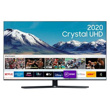 "Samsung 55"" 4K Crystal UHD HDR Smart LED TV 