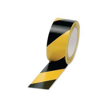 Hazard Warning Tape Yellow / Black 50mm x 33 Metre | 9001-21