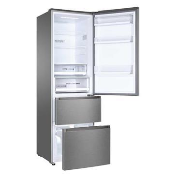 Haier 60/40 Frost Free Freestanding Fridge Freezer - Silver | A3FE635CGJE