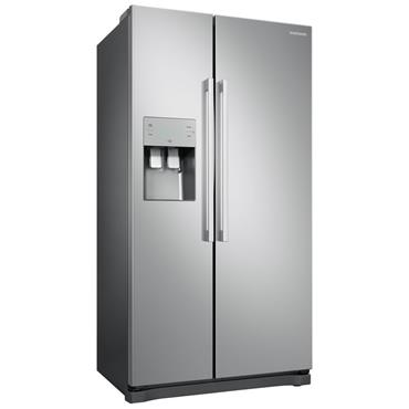 Samsung NoFrost Freestanding American Fridge Freezer - Metal Graphite   RS50N3513SA