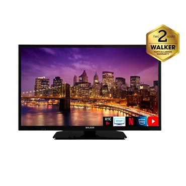 "Walker 24"" HD Ready Smart Tv with Satellite Tuner 
