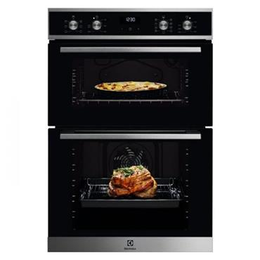 Electrolux Built-In Electric Double Oven - Stainless Steel | KDFEC40X