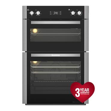 Blomberg Built In Electric Double Oven - Stainless Steel | ODN9302X
