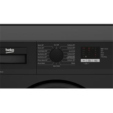Beko 7kg 1400 Spin Washing Machine - Black | WTL74051B