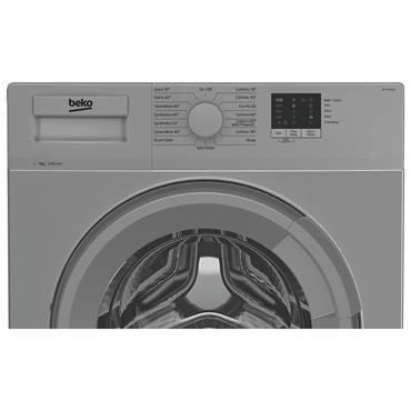 Beko 7kg 1200 Spin Washing Machine - Silver | WTL72051S