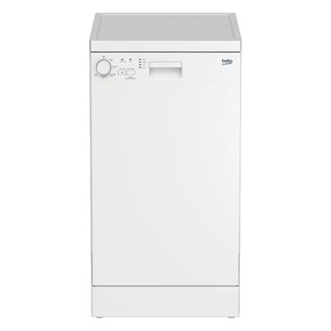 Beko 45cm Slimeline Dishwasher - White | DFS05020W