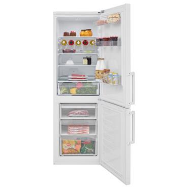 Beko 184.5cm 60/40 Frost Free Fridge Freezer - White | CFP1685W