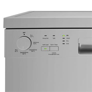 Beko 13 Place 60cm Dishwasher - Sliver | DFN05320S