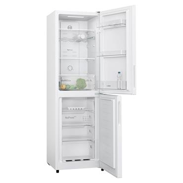 Bosch 183cm 50/50 Frost Free Fridge Freezer - White | KGN27NWFAG