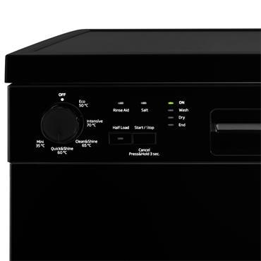 Beko 13 Place Free Standing Dishwasher - Black | DFN05320B