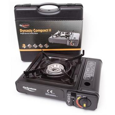 GoSystem Single Burner Gas Camping Stove (Dynasty Compact II) | GS2290